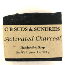 CB Suds & Sundries Handmade Soap - Activated Charcoal