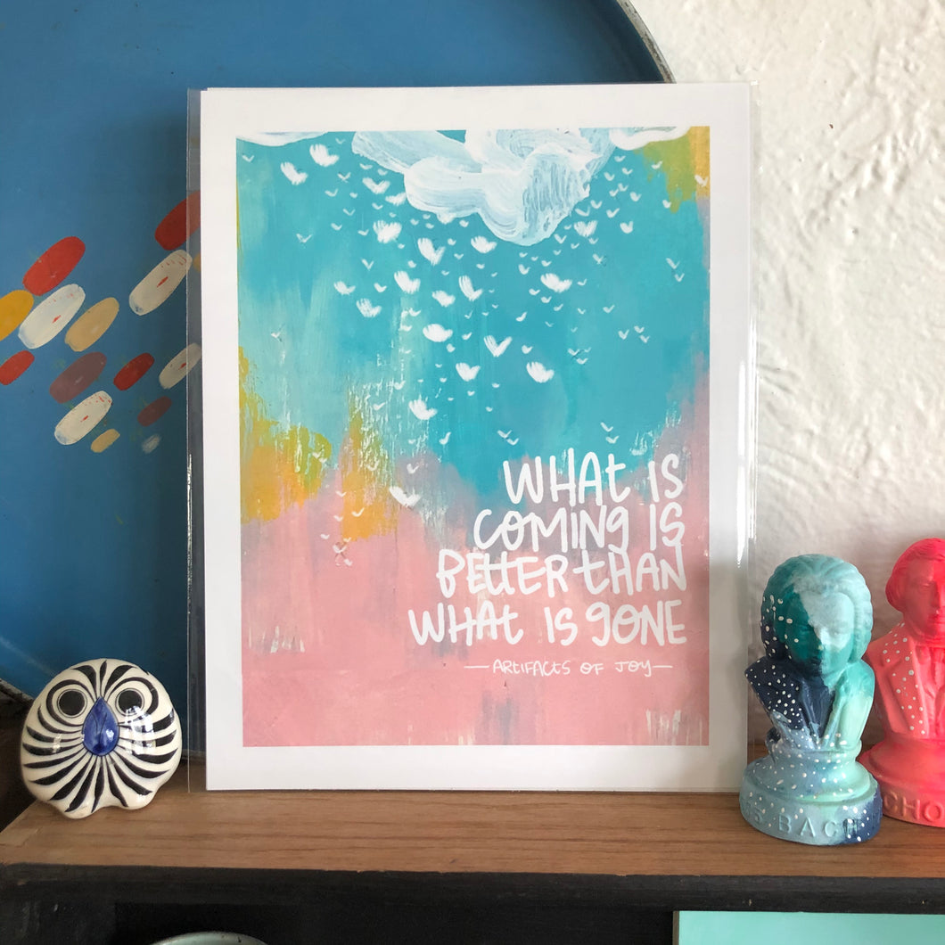 What is Coming... Print by Local Artist Lauren Strom