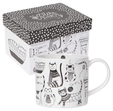 Purr Party Boxed Mug