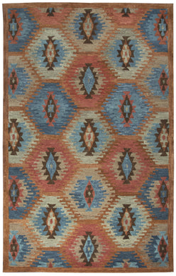 Hand-Tufted Rustic Rug