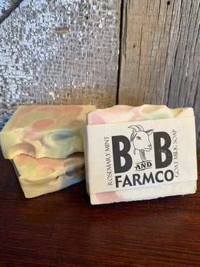 Rosemary Mint Goat Milk Soap