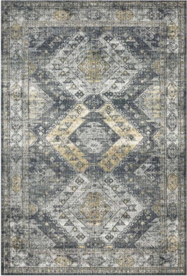Old World Design Rug - Graphite (7'6