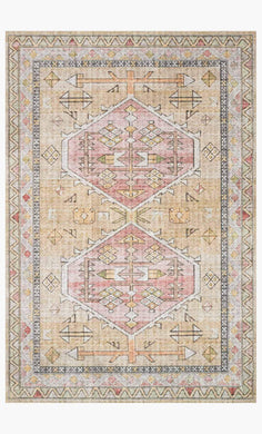 Old World Design Rug- Gold (5' x 7'6