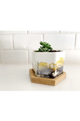 Natalia James Small Planter Without Succulent