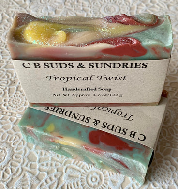 CB Suds & Sundries- Tropical Twist Soap