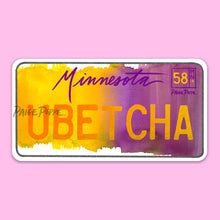 Minnesota License Plate Stickers