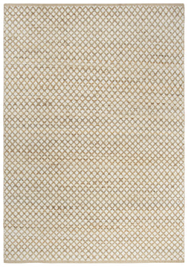 Natural Jute & Cotton Rug (7 X 10)