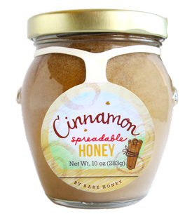 Creamed Cinnamon Honey Honey, 10 oz Jar