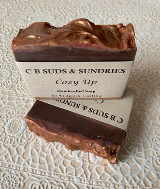 CB Suds & Sundries- Cozy Up Soap