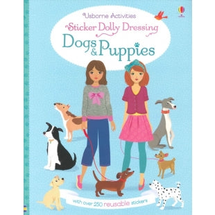 Dogs & Puppies Reusable Sticker Dress Up