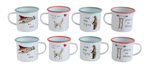 Children's Enameled Mugs