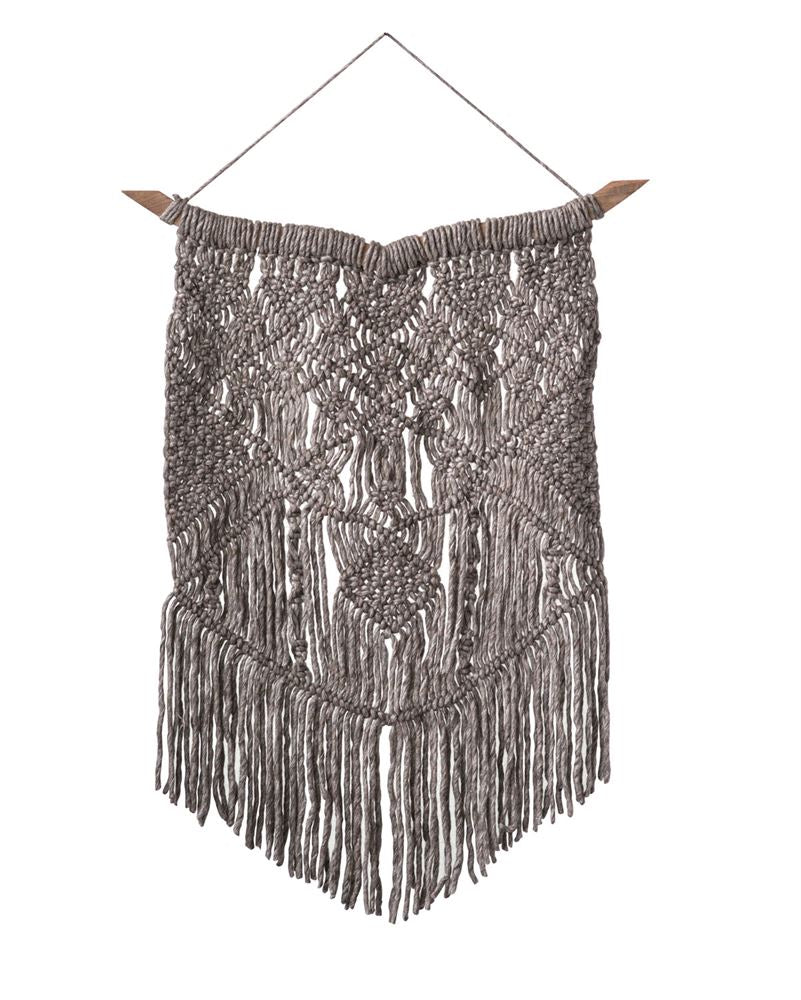 Wool Macrame Wall Hanging