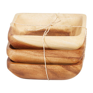 Acacia Wood Serving Dishes