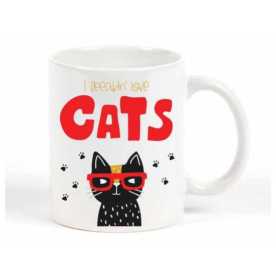 I Feakin' Love Cats Mug