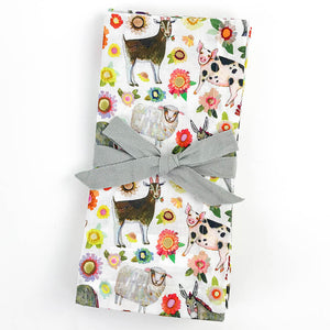 Farmers Market Cloth Napkins (Set of 4)