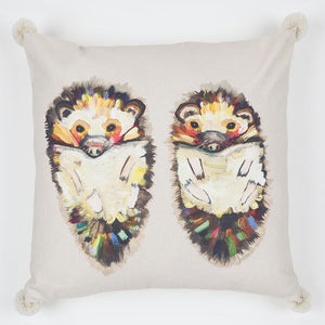 Hedgehogs Pillow