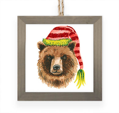 Cozy Bear- Ornament