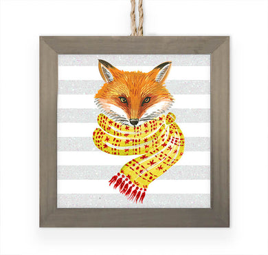 Cozy Fox- Ornament