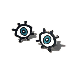 """eyes"" enamel pin - Emily Ritchie"