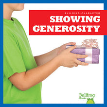 Showing Generosity (Paperback)