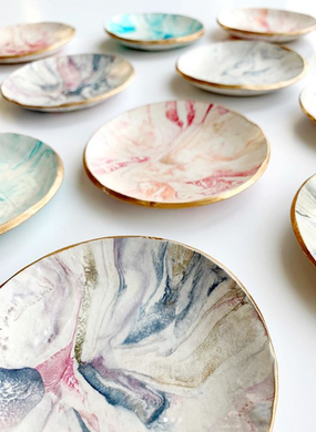 Natalia James Mini Jewelry Dishes