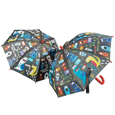 Color Changing Umbrella--Monsters