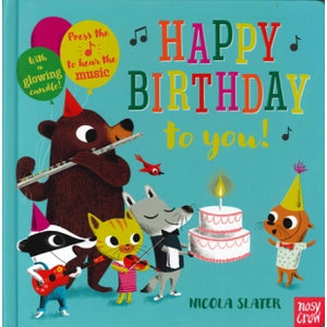 Happy Birthday to You! (Board book with sound)
