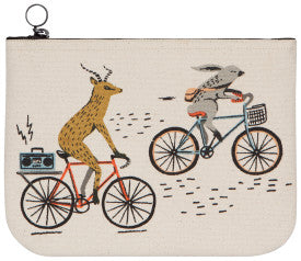 Wild Riders Zip Pouch Large