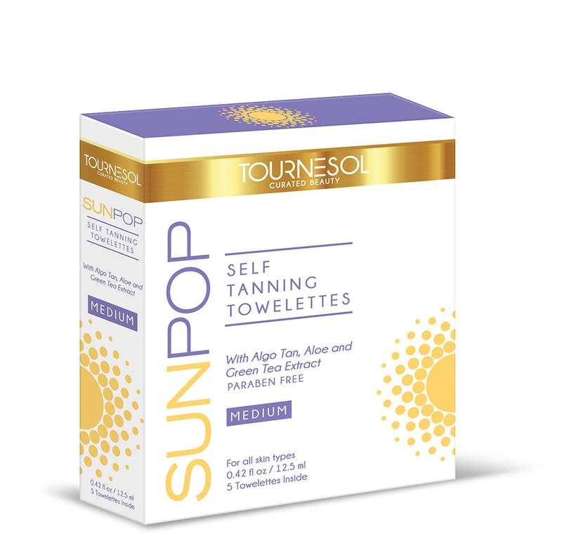 SunPop Tanning Towelettes Medium 5-Count