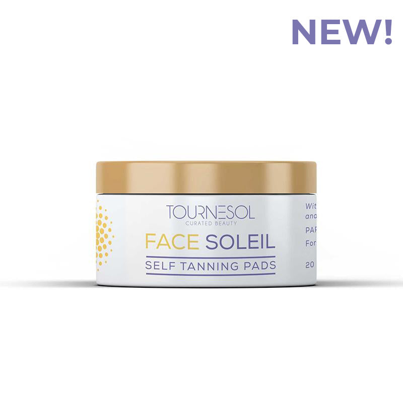 Face Soleil Self Tanning Pads