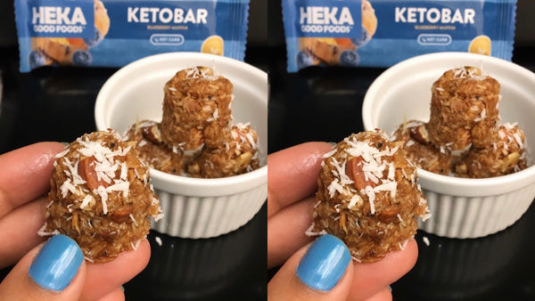Coconut Blueberry Heka Mini Bites