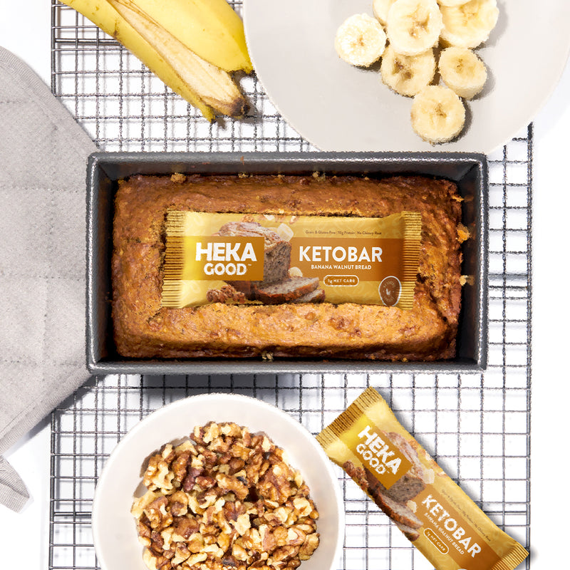 Banana Walnut Bread Keto Bars (12 Pack)