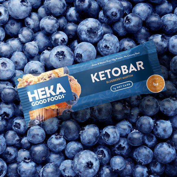 Blueberry Muffin Keto Bars (12 Pack)