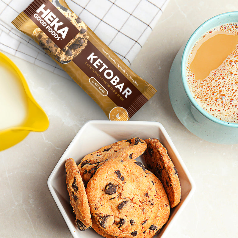 Chocolate Chunk Cookie Dough Keto Bar (Single)