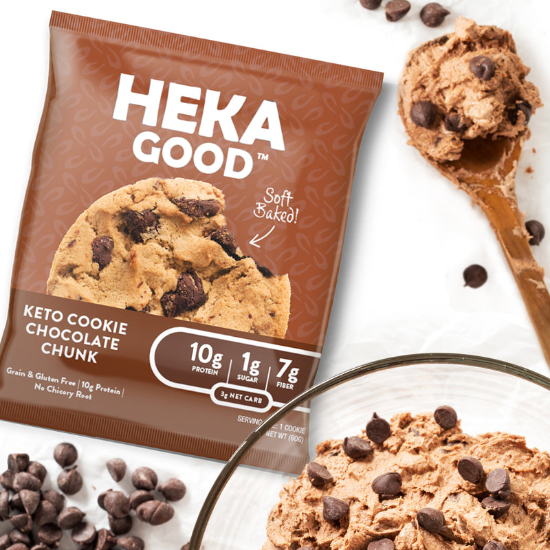 Chocolate Chunk Keto Cookies (12 Pack)