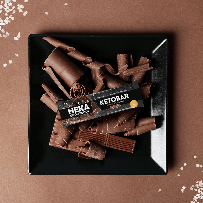 Chocolate Sea Salt Keto Bars (12 Pack)