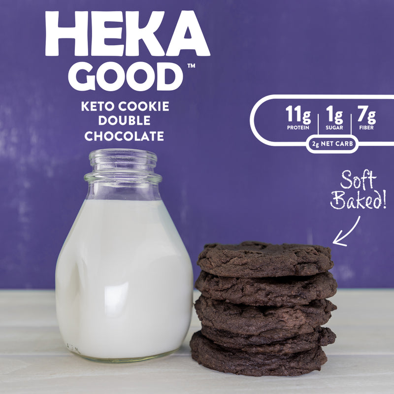 Double Chocolate Chunk Keto Cookies (12 Pack)