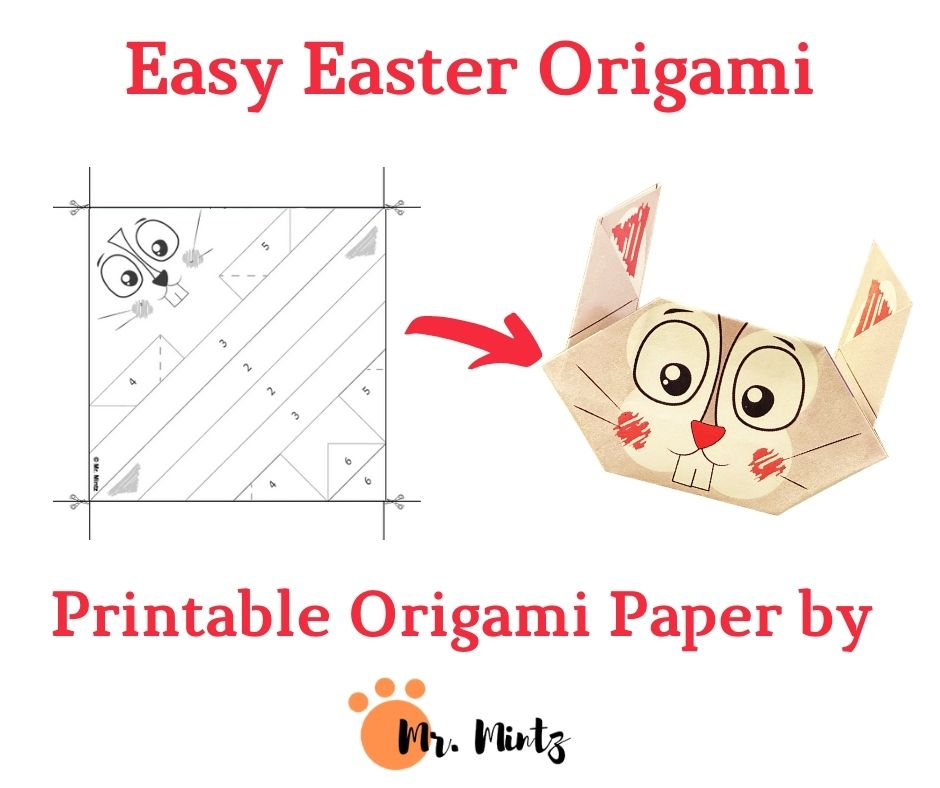 Easy Easter Origami for Kids