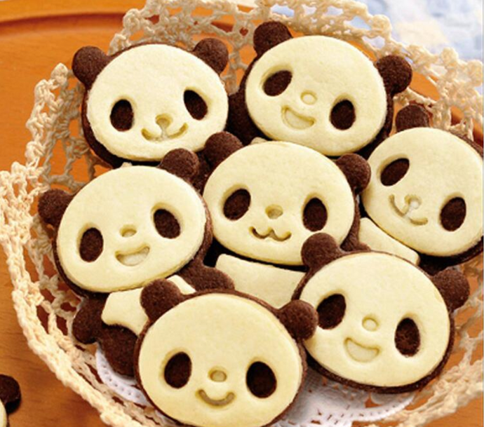 How to make panda cookies
