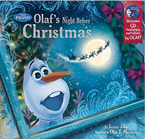 Frozen: Olaf's Night Before Christmas by Disney Book Group