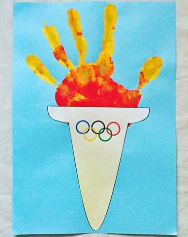 Simple Olympic Crafts for Kids to Make
