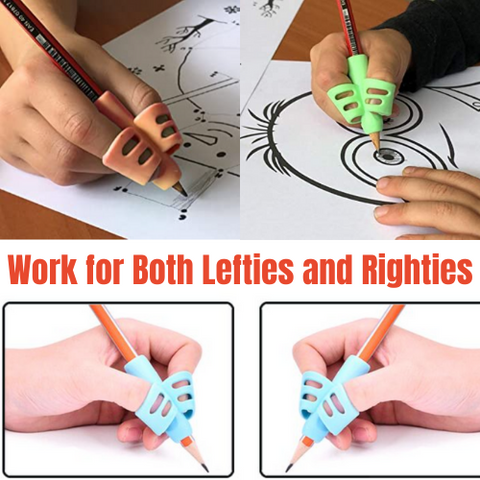 Designed for kids who are learning to write or have difficult to hold pens and pencils. This training pencil helps to cultivate children's interest in writing and let adults improve and correct their hand writing posture.
