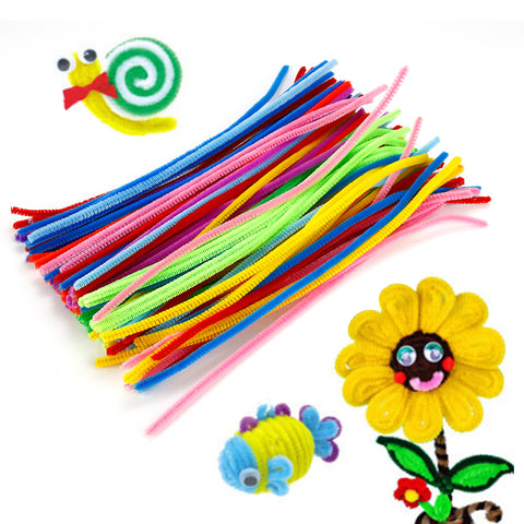Pipe cleaners are such a wonderful activity for preschoolers and family to have fun together. Great for teachers to enhance classroom projects. It can be formed into puppets, flowers, vegetables, animals, gift wrapping, holiday ornaments, etc.