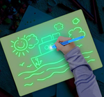 Drawing board with light - This drawing board designed for kids and their parents help them explore their creativity, develop writing or drawing skills
