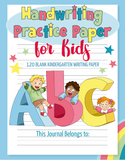 Handwriting practice paper dotted notebook for kids is the first step towards learning. Trace the letters and practice handwriting in this awesome and crazy lined paper book with dotted grid for practicing handwriting. Use it for personal practice at home or for your entire classroom.
