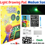 Developing creativity and imaginative potential in the mind of your child is a vital step in their upbringing. Introducing the Magic Luminous Drawing Board – not only is it an educational toy for kids, but it's also extremely entertaining!