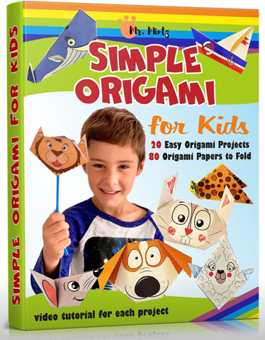 This special origami book will teach your kids how to make origami in a way that's fun and entertaining and is suitable for children with special needs such as ADHD and Autism.
