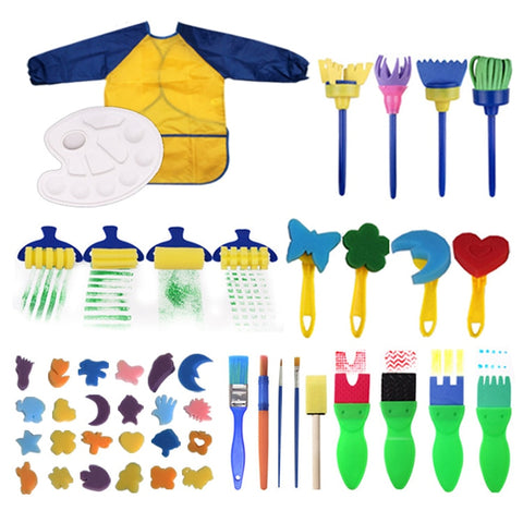 Painting Brushes Tool Kit for Kids