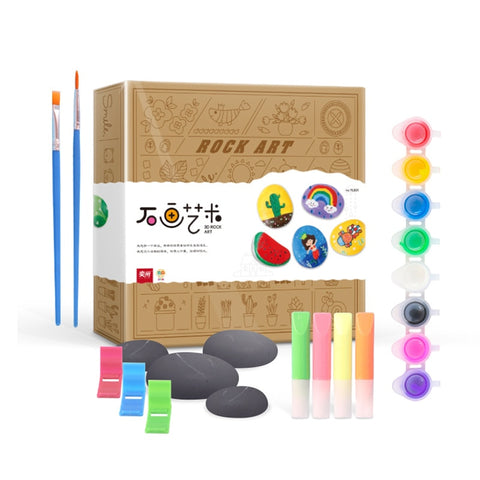 Rock Painting Activity Kit for Kids