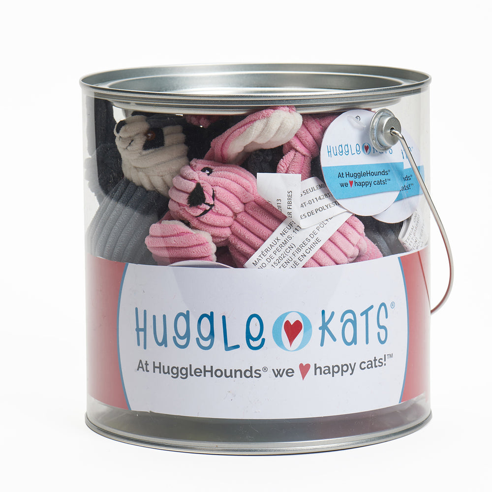 HuggleKats 12 Piece Bucket of Woodland Characters